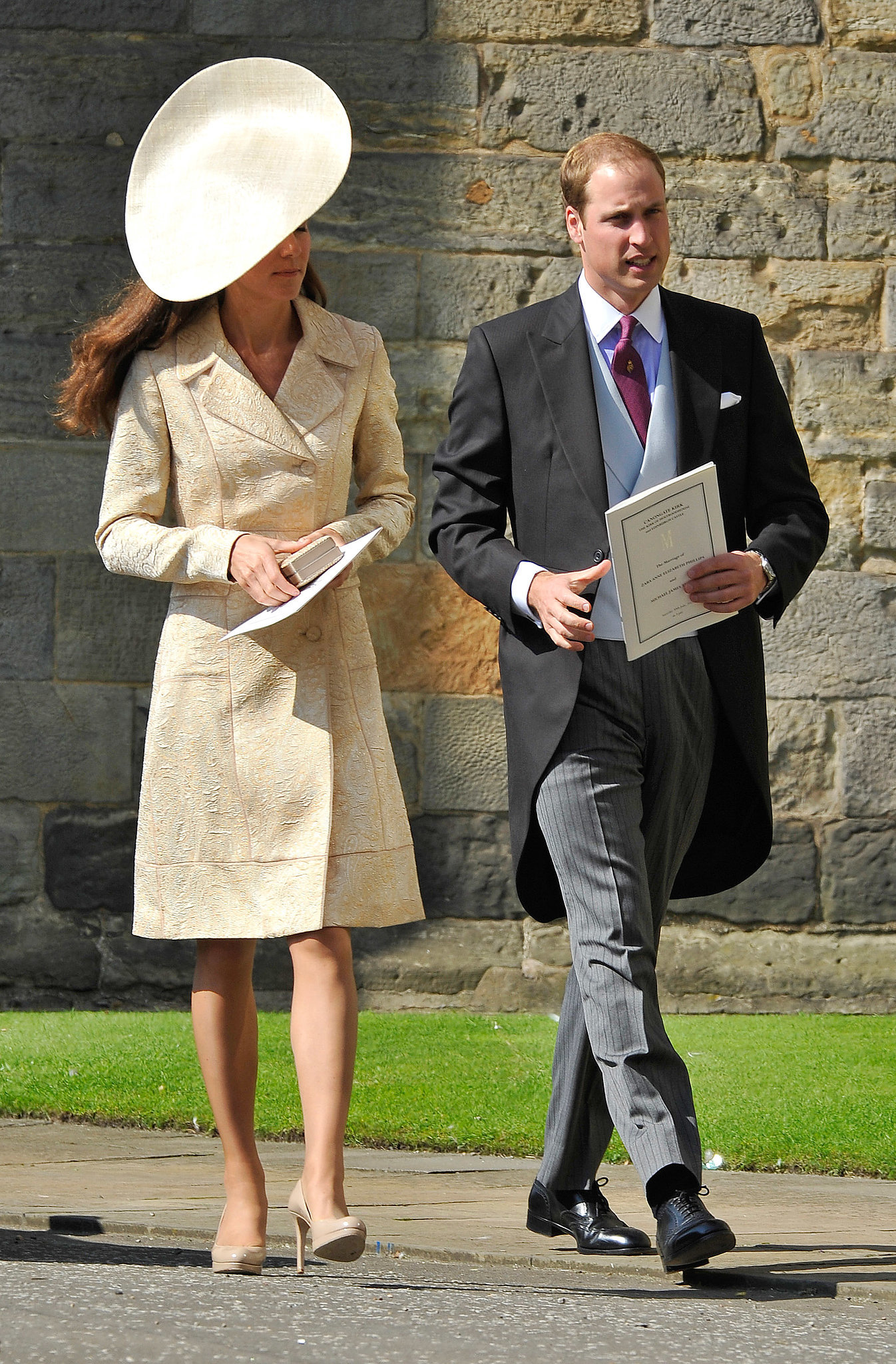 Kate Middleton At Zara Phillips 39 S Wedding In 2011 Kate