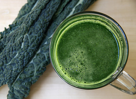 Low-Sugar Energizing Green Juice