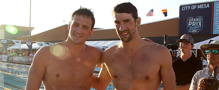 Oh, Hey There, Shirtless Ryan Lochte and Michael Phelps