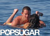 During their honeymoon in Italy in July 2010, Channing and Jenna shared a romantic moment in the water.