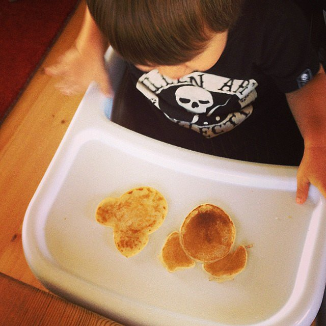 When you try to make Mickey and Minnie pancakes, but they just look like bears.  Source: Instagram user  sabrine_marie