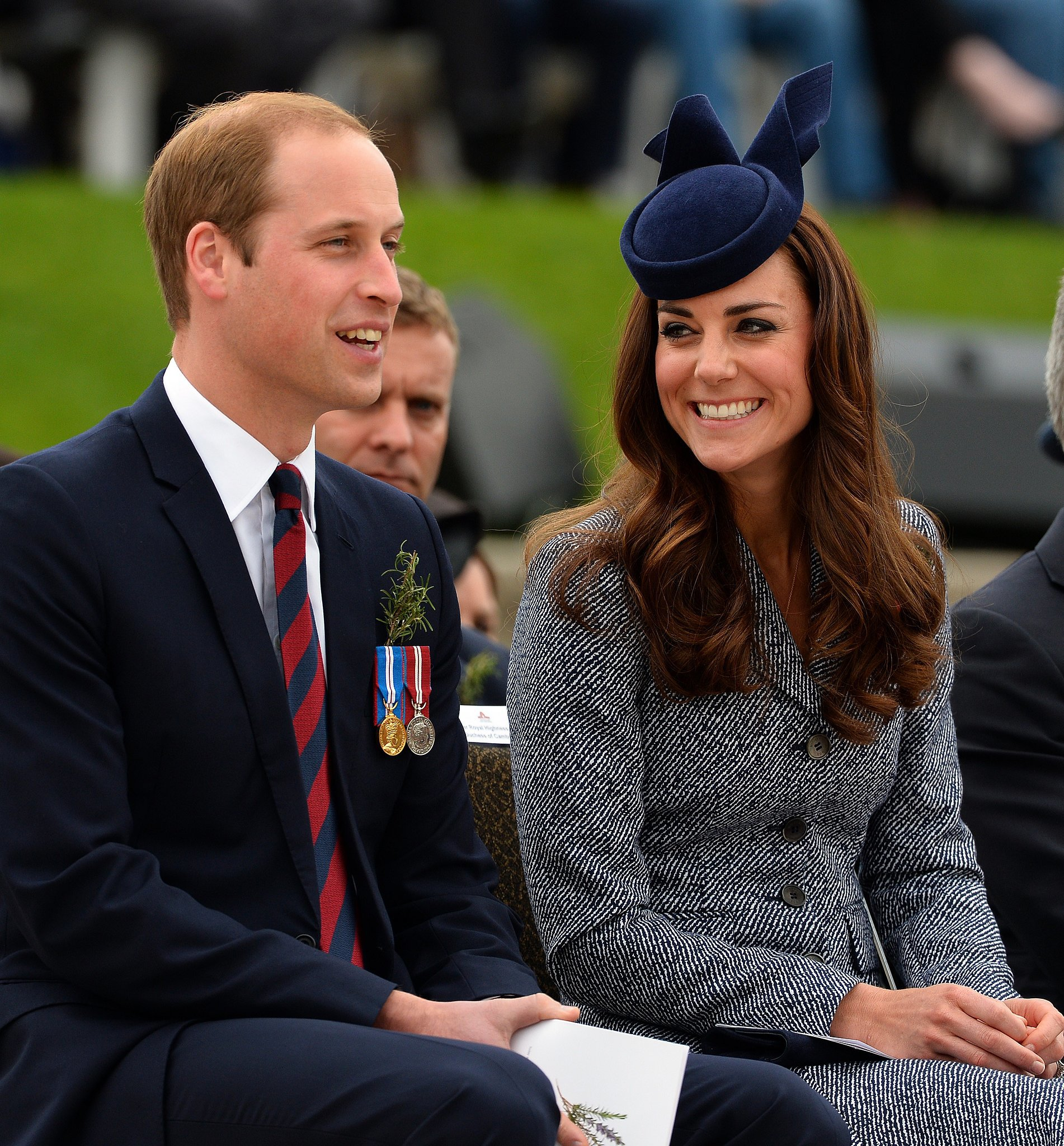 Kate shared a loving glance with William in April 2014 during their tour of Australia.