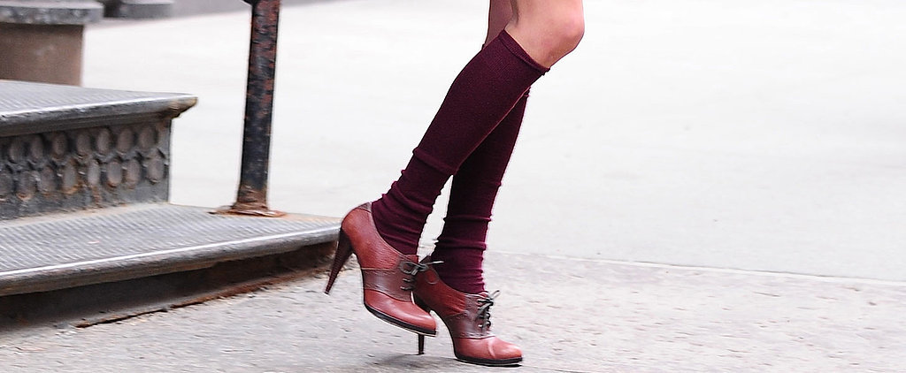 Taylor Swift Is Trying Really Hard to Make Knee Socks Happen