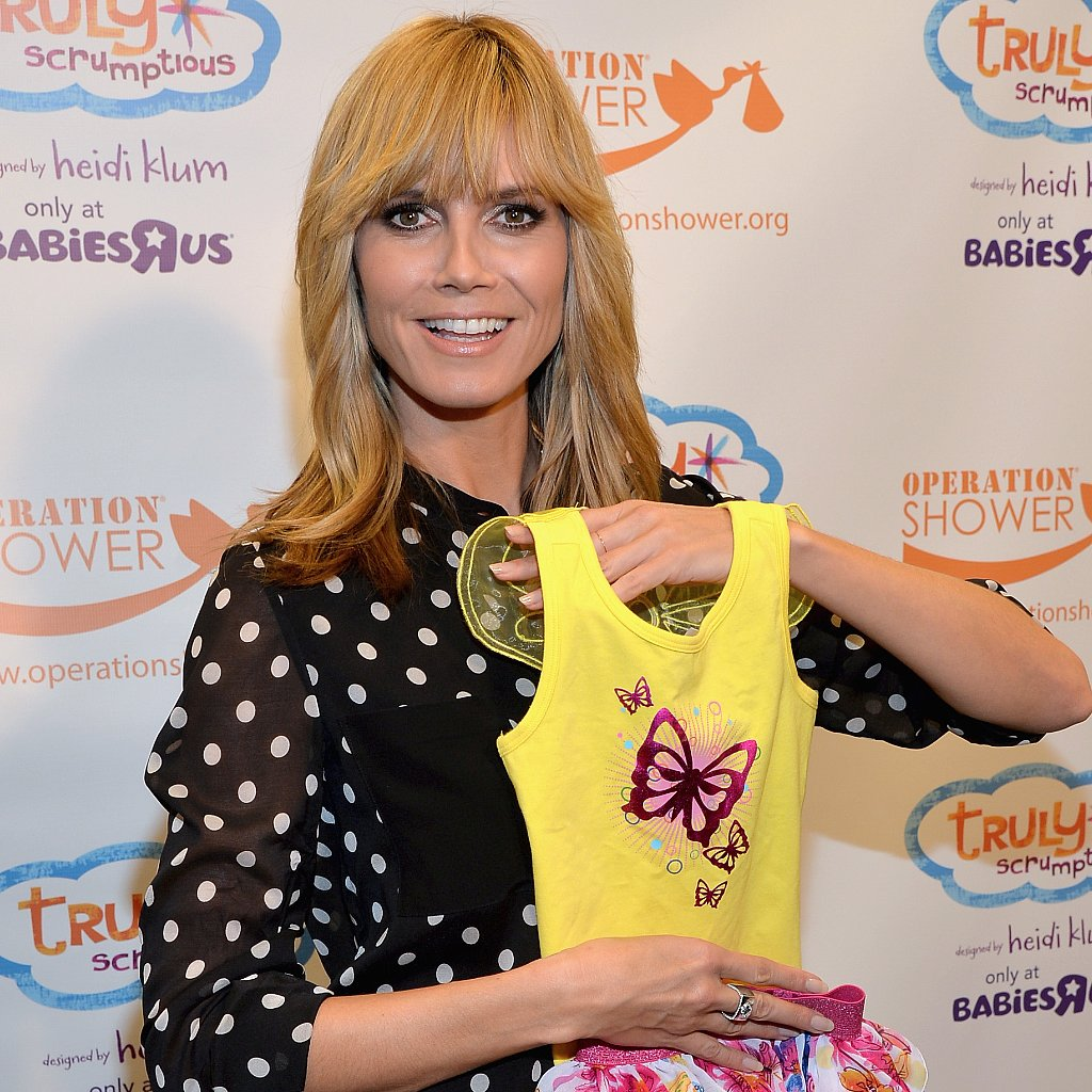 Heidi Klum Talks About Kids