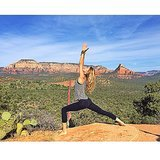 Gisele Bündchen did yoga during a hike in Sedona, AZ. Source: Instagram user giseleofficial