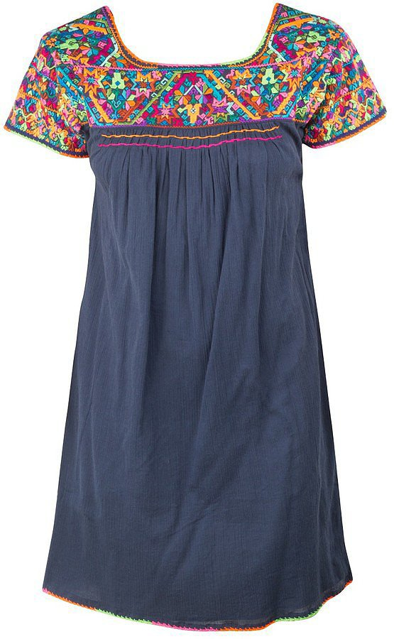 Jet Set Embroidered Dress