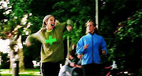 "When Rachel and Phoebe Go ""Running"""