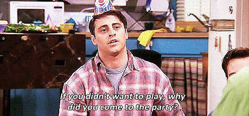 When Joey Properly Explains Party Etiquette