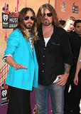 He Also Posed With Billy Ray Cyrus