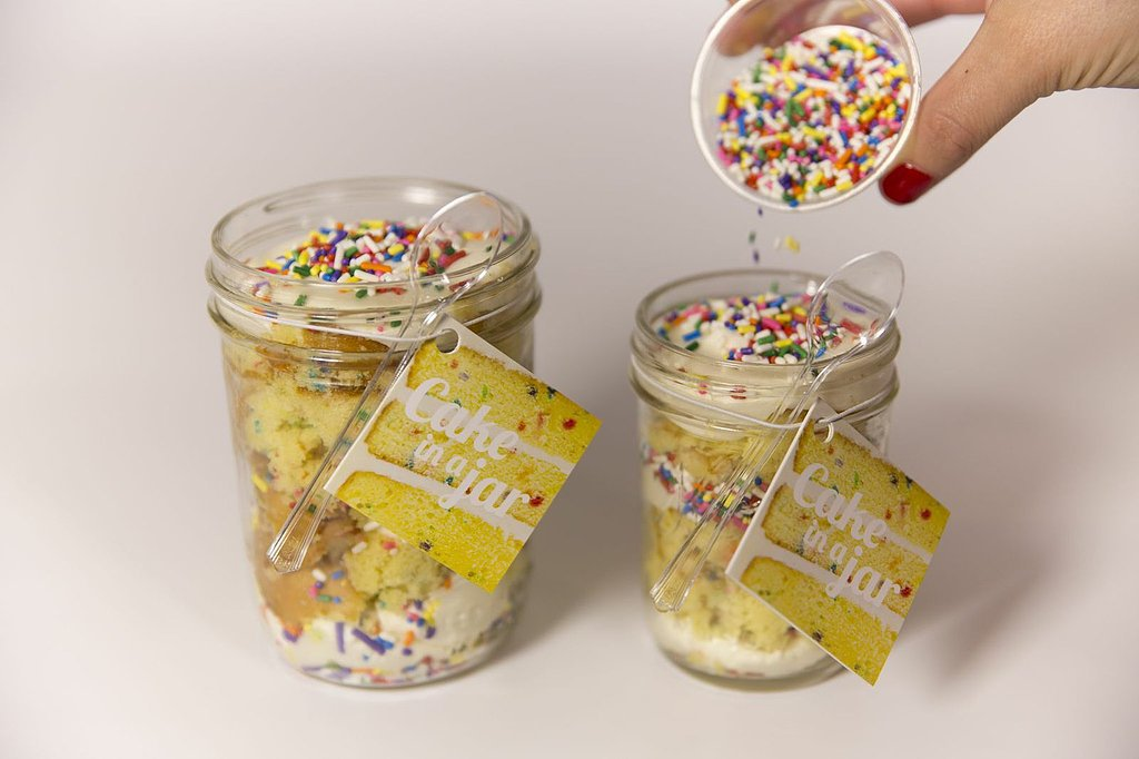 Duff's Cakemix Cake in a Jar