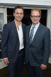 Tony Goldwyn spent time with Jeff Perry, who plays his right-hand man on Scandal, at the New Yorker party on Friday.