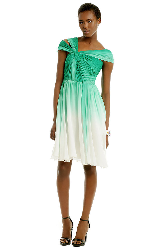 Monique Lhuillier Corsican Mint Dress