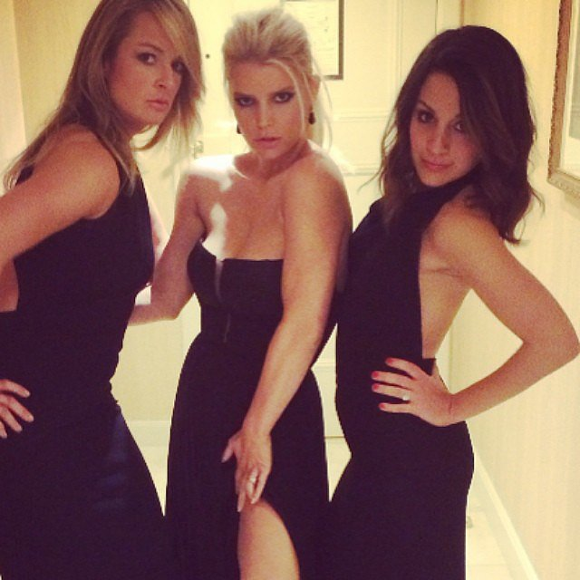 """""""After the prez it's the after party #whcd,"""" Jessica wrote in the caption for this fun pic with her girlfriends.  Source: Instagram user jessicasimpson"""