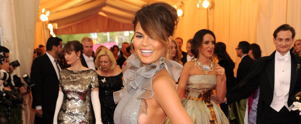 Chrissy Teigen Is Serving Up Skin at the Met Gala