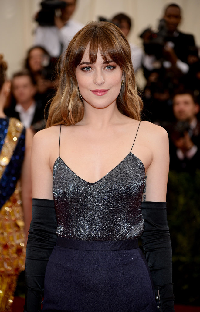 Dakota Johnson Dazzles in Shades of Blue