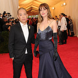Dakota Johnson at the Met Gala 2014