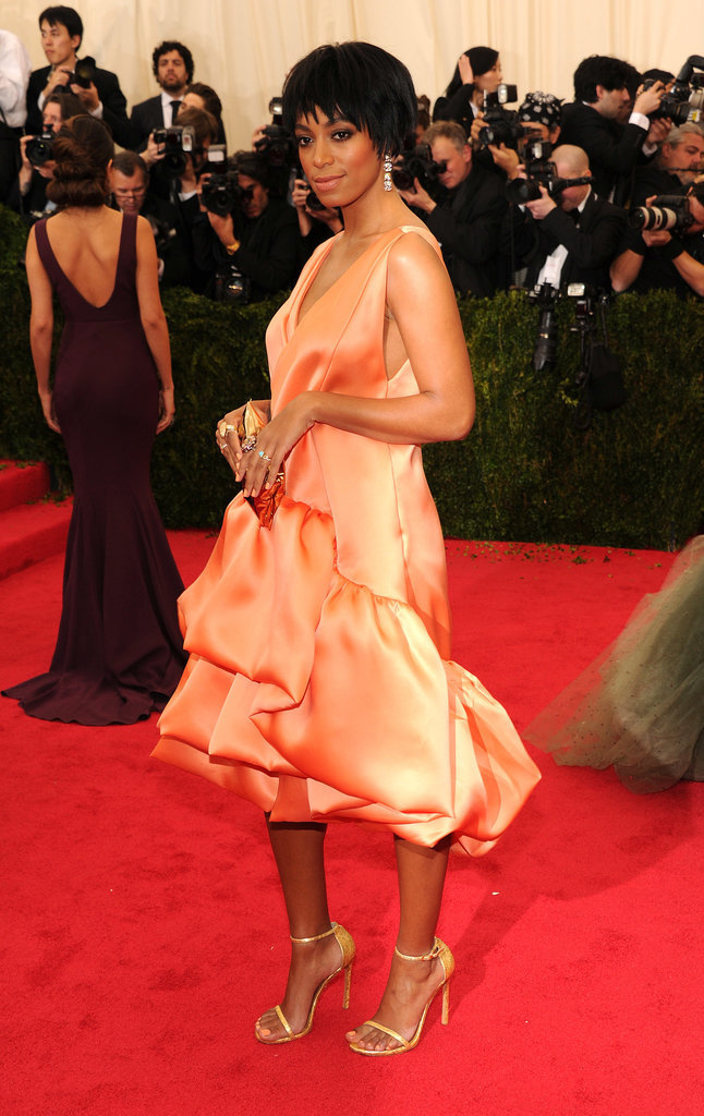 Solange Knowles at the 2014 Met Gala