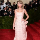 Pictures of Taylor Swift's Pink Dress at the 2014 Met Gala