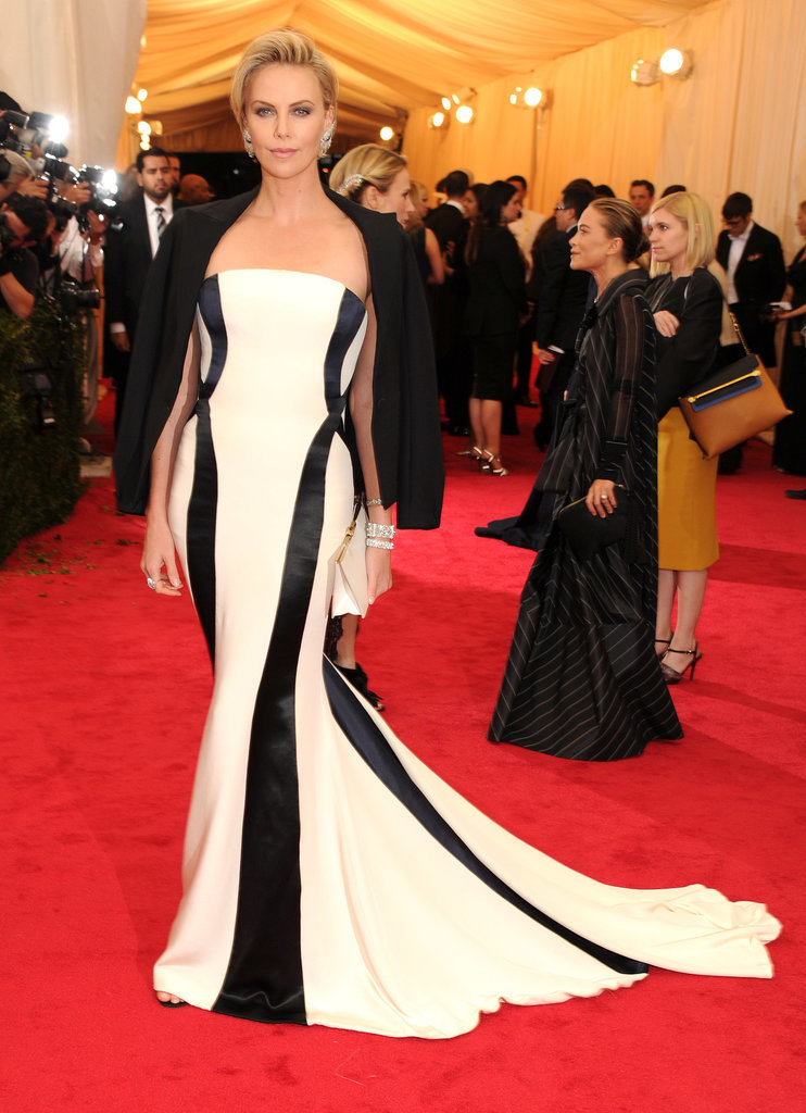 Charlize Theron at the 2014 Met Gala