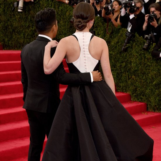 Back Shots of Dresses at the 2014 Met Gala