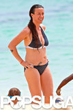 Alanis Morissette Has a Ball in Her Bikini
