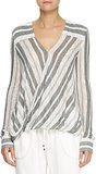 Derek Lam 10 Crosby Striped Blouse