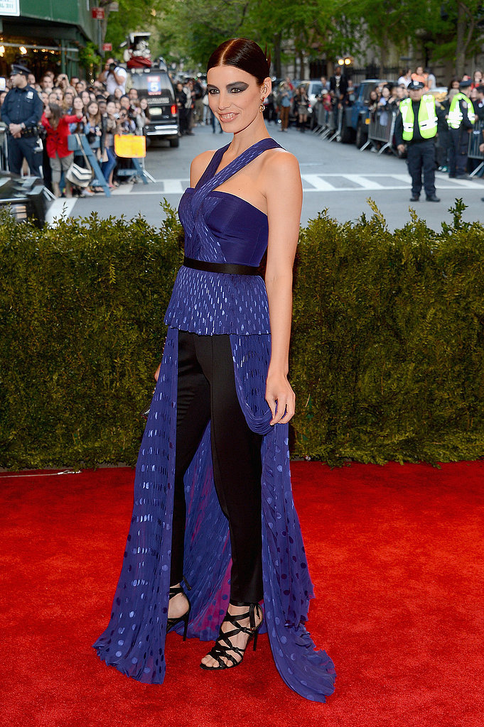 Jessica Paré at the 2013 Met Gala