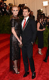 Diane Kruger and Joshua Jackson at the 2013 Met Gala