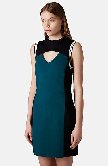 Topshop Cutout Dress