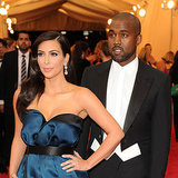 Kim Kardashian and Kanye West at 2014 Met Gala