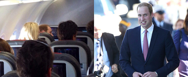 Yes, Prince William Flies Coach
