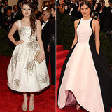 Hailee Steinfeld at the 2013 and 2014 Met Galas
