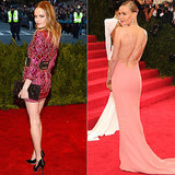 Kate Bosworth at the 2013 and 2014 Met Galas