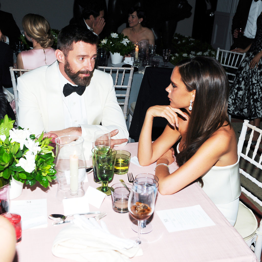 Hugh Jackman and Victoria Beckham