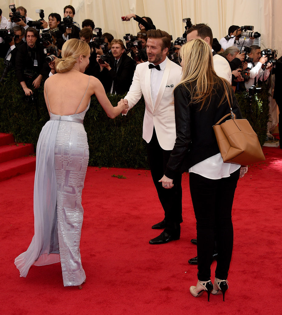 David Beckham and Diane Kruger