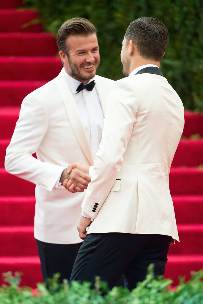 David Beckham and Joshua Jackson