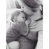 """The bond with your baby. Its a bond your baby will share with no other."" — Amy Source: Instagram user susannamcmillan"