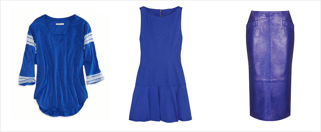 You Won't Want to Wear Anything but Blue This Season