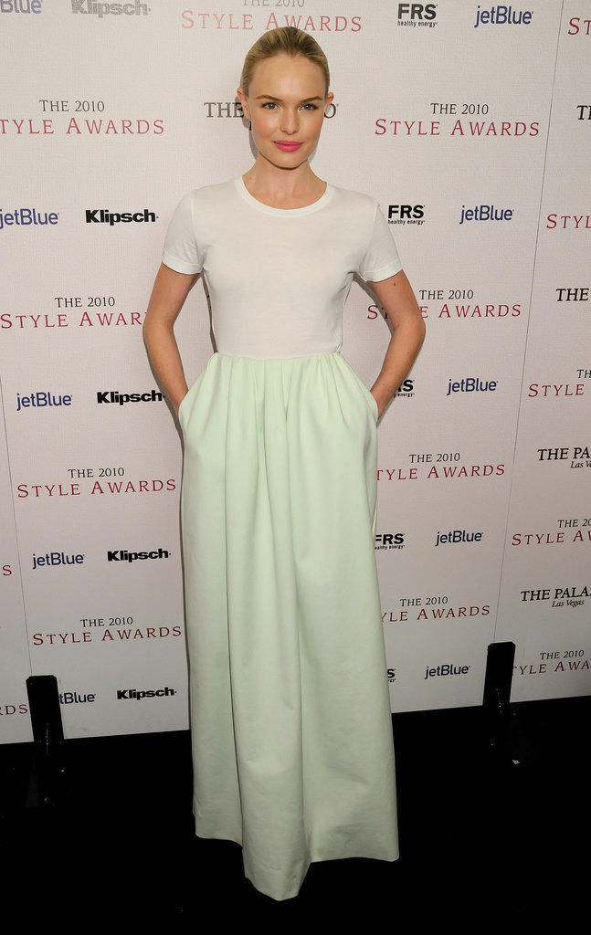 Kate Bosworth at Style Awards, 2010