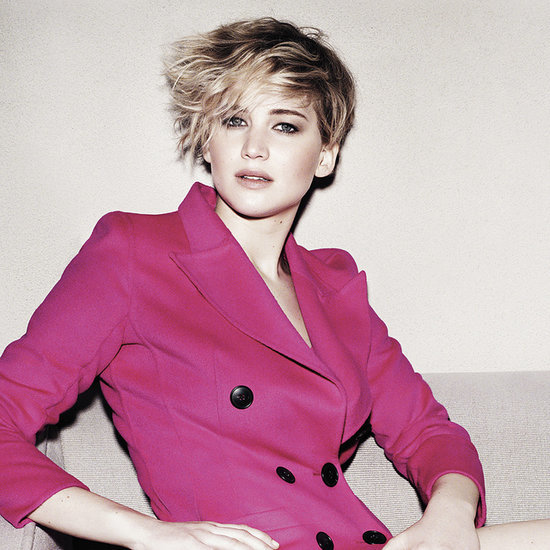 Jennifer Lawrence in US Marie Claire Magazine June 2014