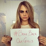 Celebrities like supermodel Cara Delevingne also shared on their socials.  Source: Instagram user caradelevingne