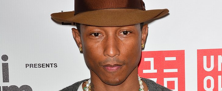 What Does Pharrell Ask Himself Before Getting Dressed in the Morning?