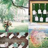 When it comes to planning all the smaller details of your wedding, escort cards should definitely not be overlooked. They serve as your guests' introduction to the reception, so use them to make a whimsical first impression. To help you get inspired, check out some of the most unique ideas that POPSUGAR Home spotted across the web. Cheers! Photos by Elisa Bricker  via 100 Layer Cake, O'Malley Photographers via Style Me Pretty, Jose Villa Photography via Style Me Pretty, and Kurt Boomer via Style Me Pretty