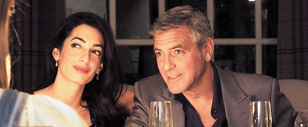 Get a Better Look at Amal Alamuddin's Engagement Ring