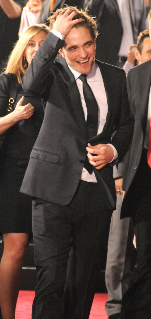 Rob and his hair got a warm welcome at the November 2009 New Moon premiere in LA.