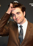 German fans got a glimpse of Rob's signature hair fluff during his April 2011 Water For Elephants premiere in Berlin.