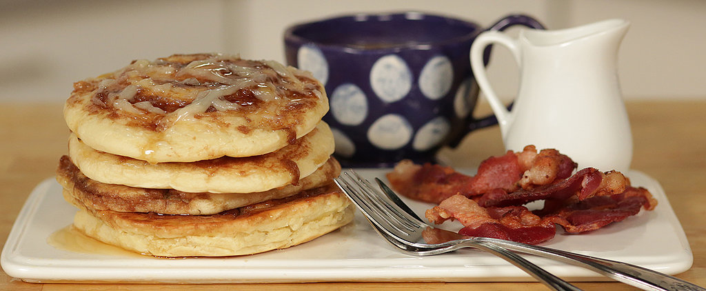 Cinnamon Roll Pancakes: The Best of Both Worlds