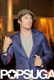 Ian Somerhalder Proves He's the King of Selfies