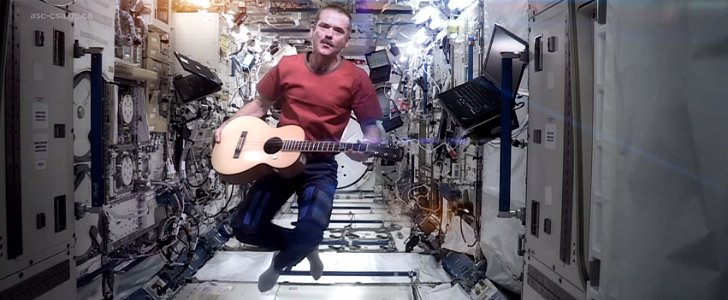 "Commencing Countdown: It's ""Space Oddity""'s Last Day on the ISS"