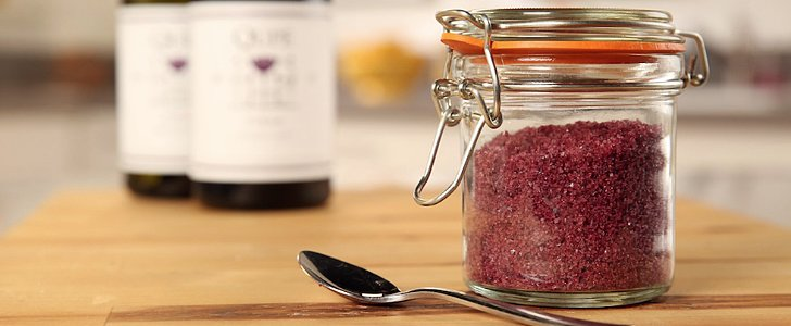 Add Flourish to Meals With Homemade Red-Wine-Infused Sea Salt